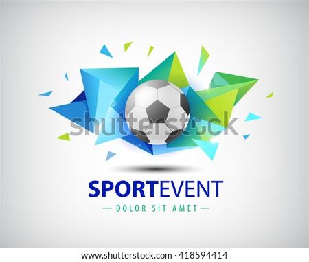 vector logo football