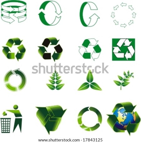 vector logo for ecology