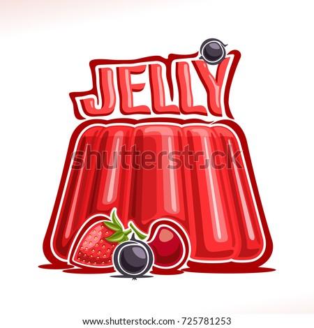 vector logo for strawberry