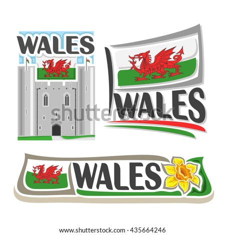 vector logo for wales  3
