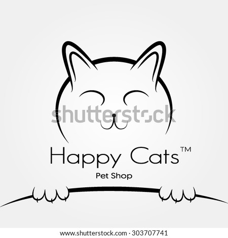 vector logo or sign for pet