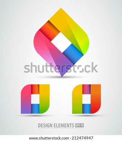 Abstract Logos from GraphicRiver