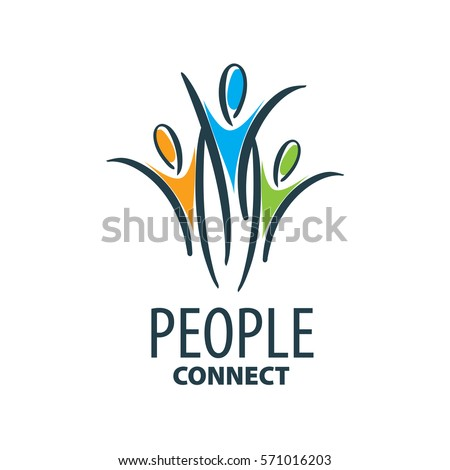 vector logo people