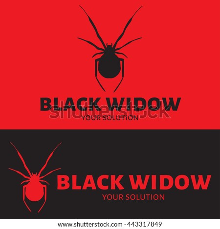 vector logo spider brand logo