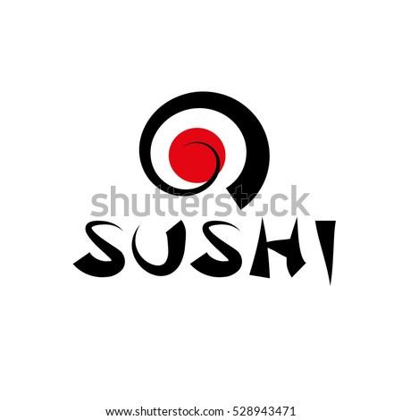 vector logo sushi