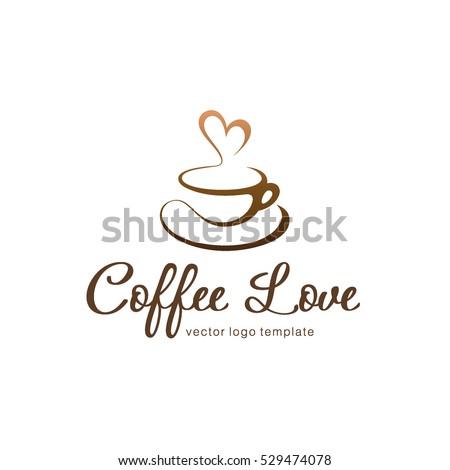vector logo template coffee