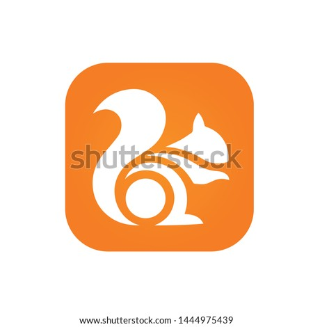 vector logo template icon  most popular mobile browser in the world by market share, after Google Chrome, Safari, and Firefox