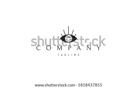 vector logo with an abstract