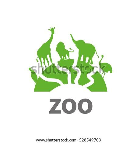 vector logo zoo