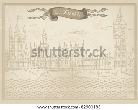 схема вышивания крестиком флаг лондона