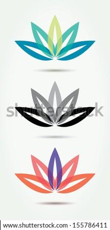 vector lotus symbols