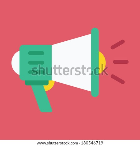 Vector Loudspeaker Icon
