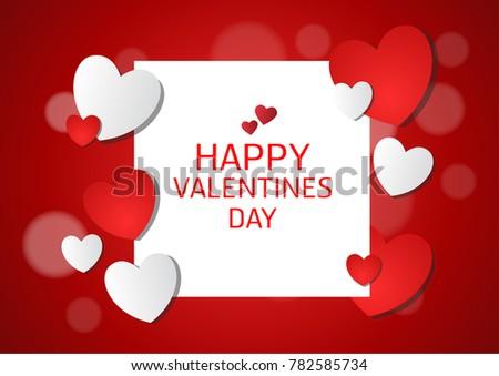 vector love of valentine day