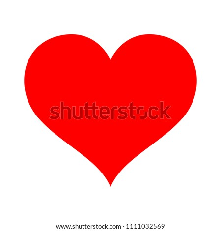 vector love sign heart
