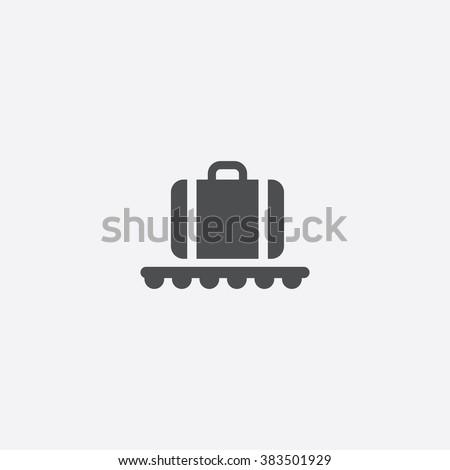 Vector luggage Icon