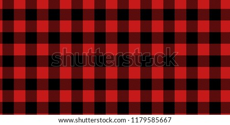 Vector Lumberjack plaid pattern. Alternating dark red and white squares background. country pattern. Vector illustration.