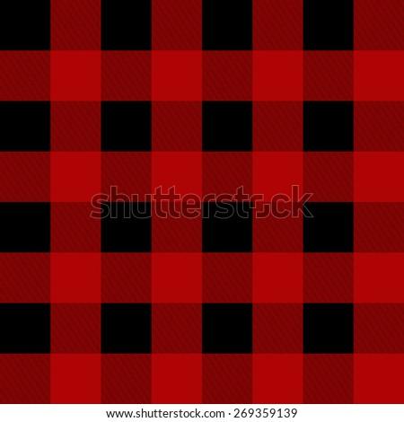 vector lumberjack plaid pattern