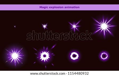 vector magic flash animation