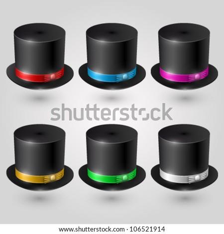 Vector magic hat
