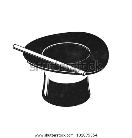 Vector Magic Hat Icon