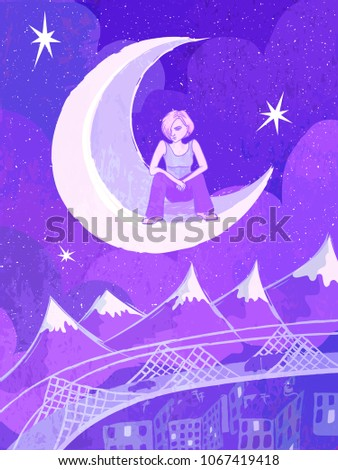 vector magic illustration with