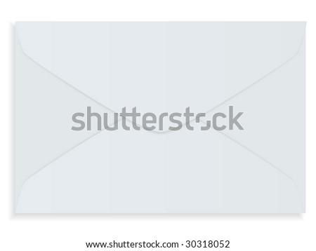 Vector mailing envelop