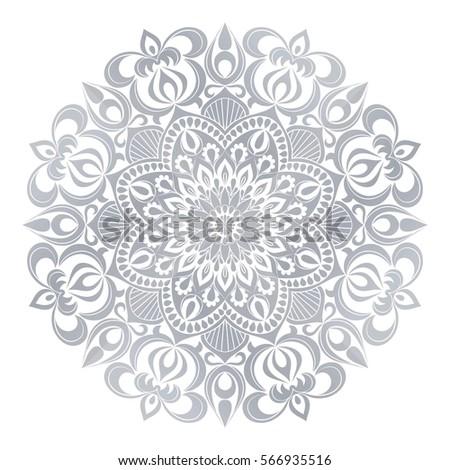 vector mandala ornament