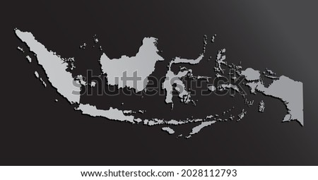 vector map indonesia made