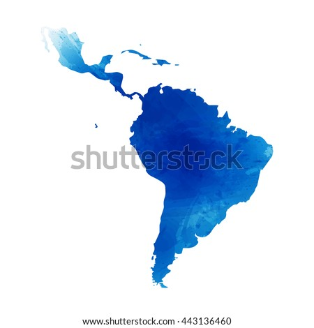 vector map latin america....