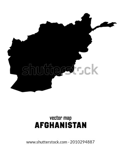 vector map of afghanistan you