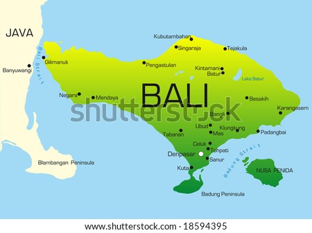 Vector bali map download free vector art stock graphics images vector map of bali country colored by national flag gumiabroncs Gallery