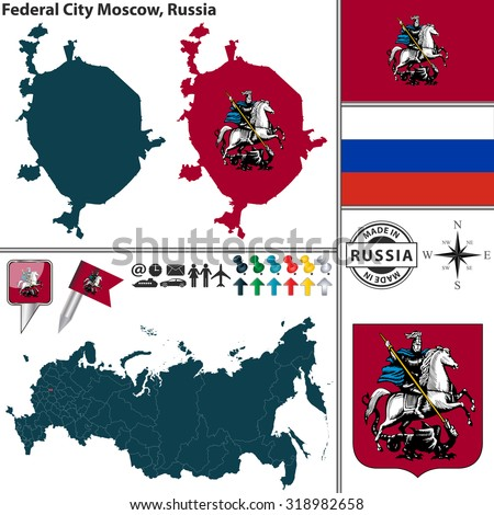 Map Russian Coat Of 57