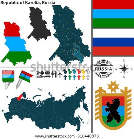 Map Russian Coat Of 104