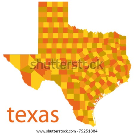 Free Texas Map Vector Download Free Vector Art Stock Graphics - Texas in map of usa