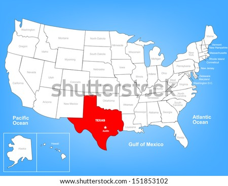 Free Texas Map Vector Download Free Vector Art Stock Graphics - Us map texas vector