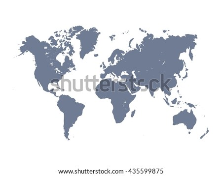 Worldmap silhouette free vector download free vector art stock vector map of world violet silhouette on white background simplified world map gumiabroncs Choice Image