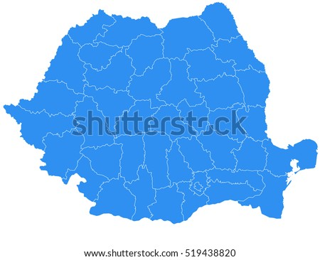 Free romania map vector download free vector art stock graphics vector map romania country gumiabroncs Choice Image