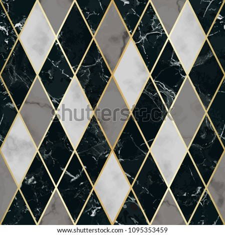 stock-vector-vector-marble-seamless-pattern-with-golden-geometric-diagonal-lines-white-gray-black-rhombus