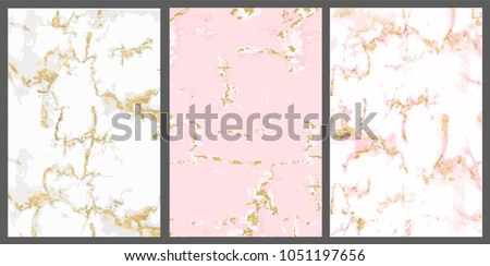 vector marble with pink gold