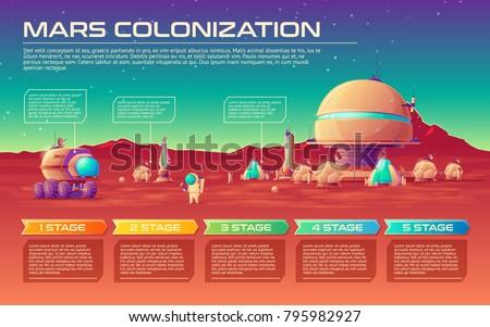 vector mars colonization