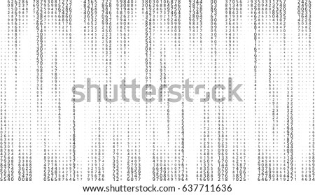 vector matrix background