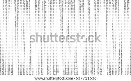 vector matrix background
