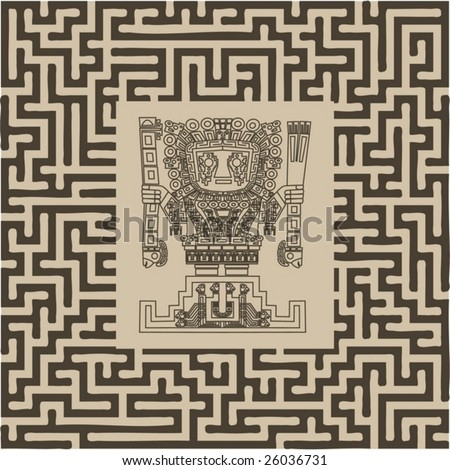 Vector Images Illustrations And Cliparts Vector Mayan And Inca