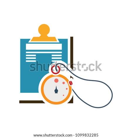 vector medical report, patient health record - medicine prescription, healthcare note