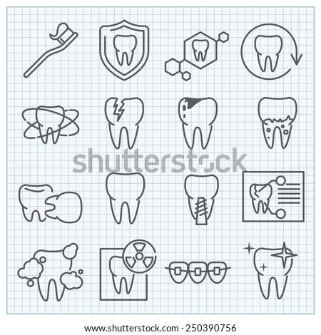 vector medicine stomatology