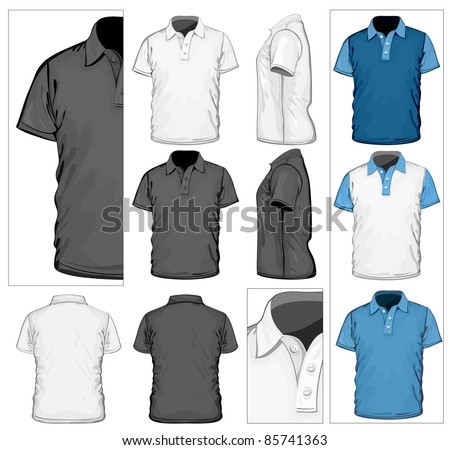 2c4c4fc9 Tshirt Vector: Black Shirt - Download Free Vector Art, Stock ...