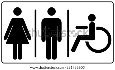 Bathroom Sign Vector Custom Toilet Sign Vectors  Download Free Vector Art Stock Graphics . Inspiration Design