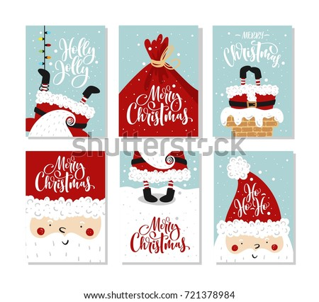 vector merry christmas and