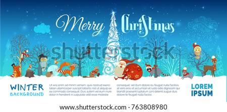 vector merry christmas