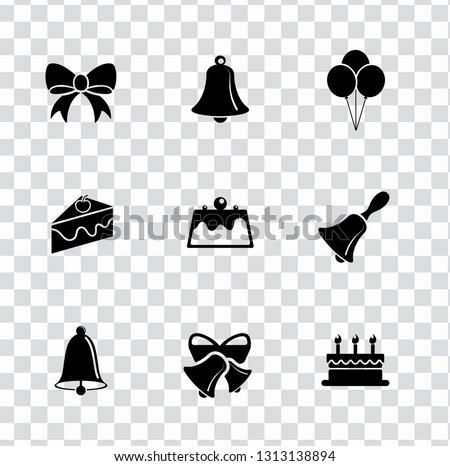 vector merry christmas illustrations - holiday celebration icons, greeting invitation symbols